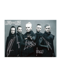 LORD OF THE LOST 'Autogrammkarte' Signiert