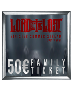 LORD OF THE LOST 'Family Ticket'