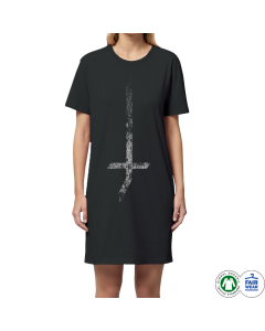 LORD OF THE LOST '?' Shirt-Kleid - Oversize Print