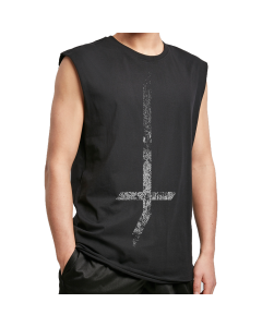 LORD OF THE LOST '?' Sleeveless Shirt - Oversize Print