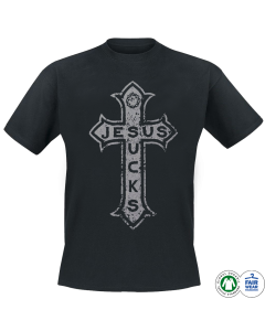 LORD OF THE LOST 'Jesus Sucks (silver)' T-Shirt