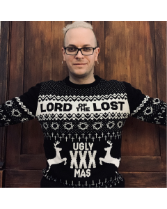 LORD OF THE LOST 'Ugly XXXmas' Strickpullover