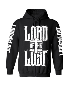 LORD OF THE LOST 'Heart' Zipper